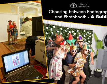 Photographer and Photobooth