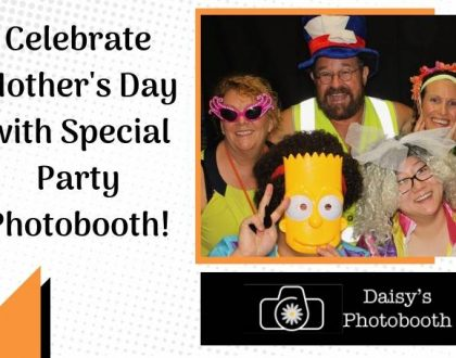 mother's day party photobooth hire