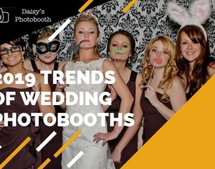 2019 Trends of Wedding Photobooths That Are Hitting Headlines