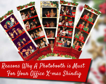 Photobooth for office x-mas