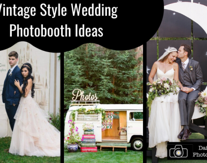 Vintage Style Wedding Photobooth Ideas