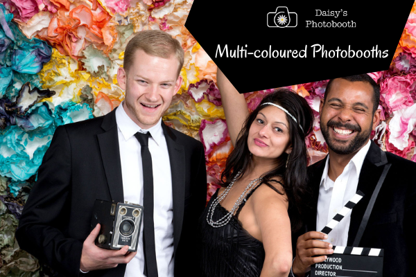 Multi-coloured Photobooths