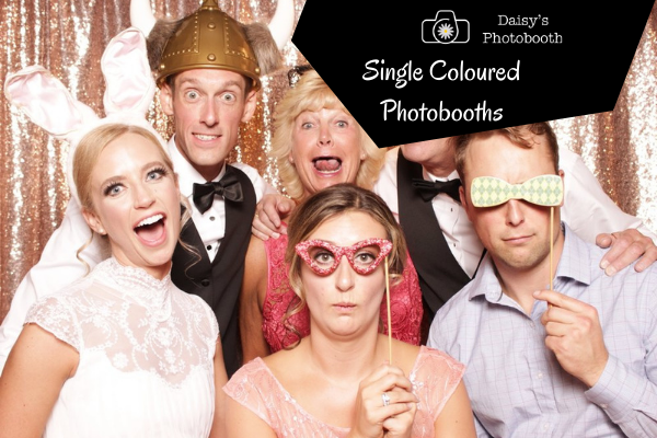 Single Coloured Photobooths