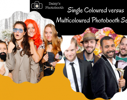 The Magic of Colour in Party Photo Booth – Single Coloured versus Multicoloured Setup